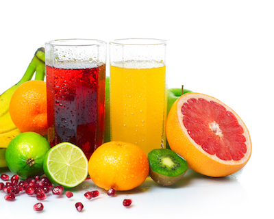 Healthy fruit and fruit juices harm teeth
