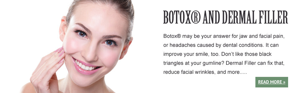 Botox for dental treatment