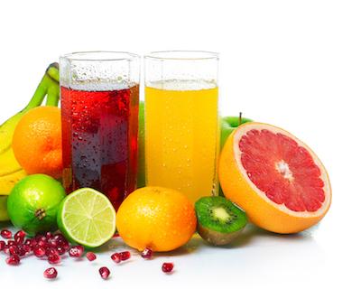 Healthy fruit and fruit juices harm teeth